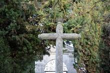Cross In A Cemetery