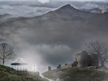 Fantasy Landscape With Castle ...