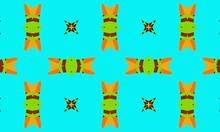 Creative Colorful Symmetric Kaleidoscope Background