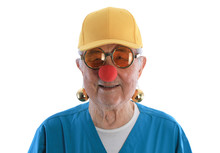 Red Nose Day, Portrait Of An O...