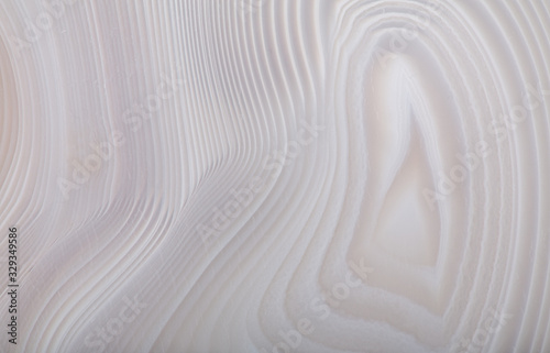 concentric gray agate texture closeup Wallpaper Mural