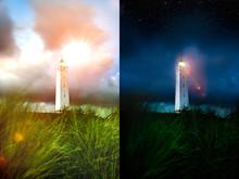 Blåvand Fyr Leuchtturm In D&a