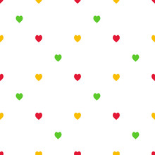 Seamless Pattern With Cute Bri...