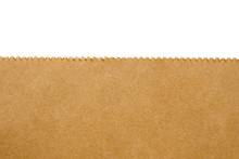 Close Up Brown Paper Bag Textu...