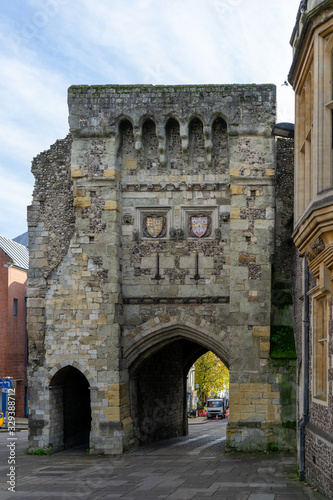 11/06/2019 Winchester, Hampshire, UK the Westgate Winchester, hampshire, UK Canvas Print