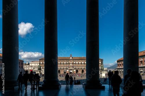 Fotografie, Tablou Davanti alla Piazza
