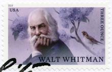 USA - 2019: Shows Walt Whitman (1819-1892), American Poet, 2019
