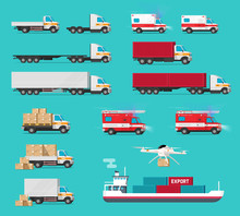 Delivery Transportation Cargo ...