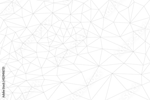 Abstract linear geometric background from triangles Canvas Print