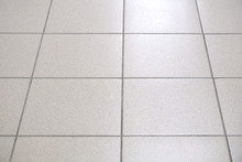 Perspective View Of Gray Tiled...