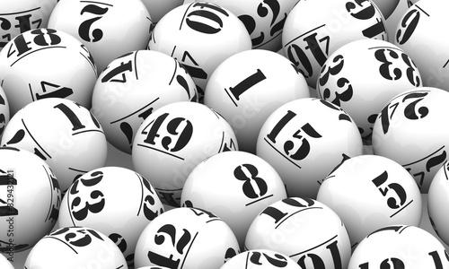 Lottery Balls #329432121