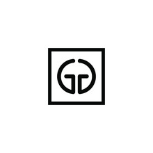 G, GG Letter Logo Icon Template