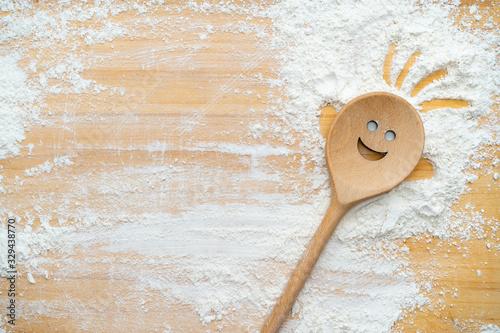 Fototapeta Happy cooking spoons obraz