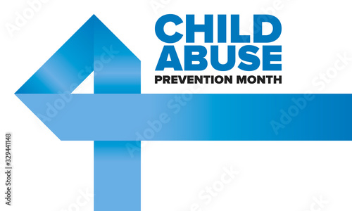 Child Abuse Prevention Month Wallpaper Mural