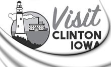 3D Emblem Of Clinton (Iowa), U...