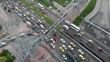 Bogota avenue heavy traffic