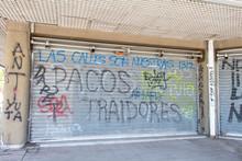 Santiago Chile Revolution 2019 Street Art