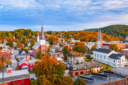 Burlington, Vermont Skyline #329447774