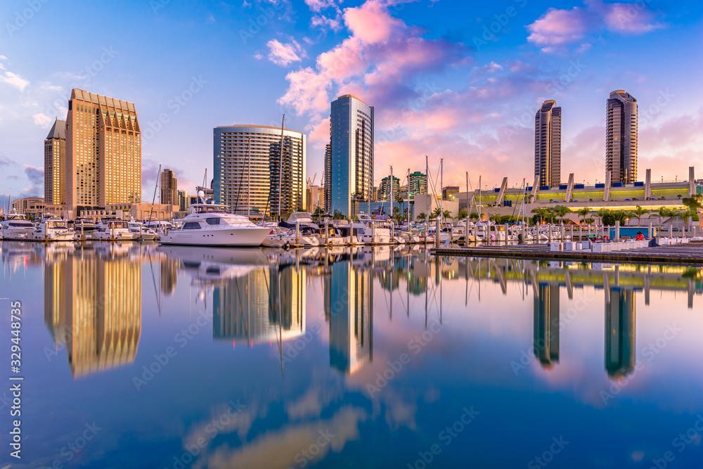 Fototapeta San Diego, California, USA