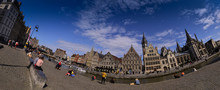 Ghent,Belgium,August 2019. Lar...