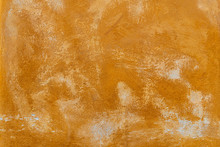 Texture Of An Old Orange Plast...