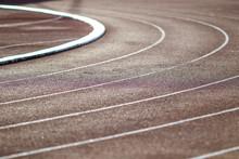 Red Running Sport Track Backgr...