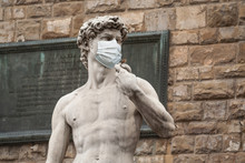 The Statue Of David In The Pia...