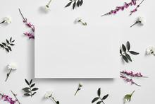 Spring Minimal Concept. Creati...