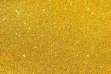 Sparkles Of Golden Glitter Tex...