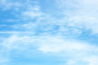 Background summer sky. Blue background