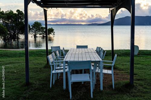 Fototapeta Outdoor Dining In Australia