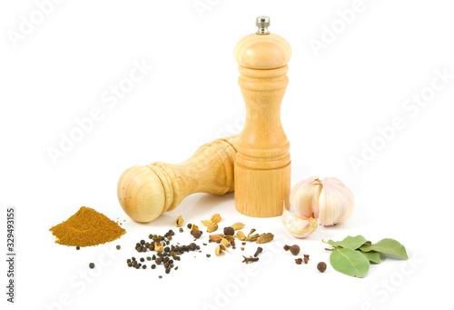 Fotografie, Tablou spices grinder