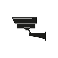 Security Camera Icon. Simple V...