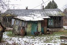 The Decrepit Abandoned House