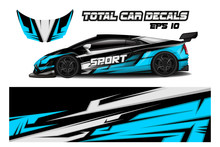 Sports Car Wrapping Decal Des...