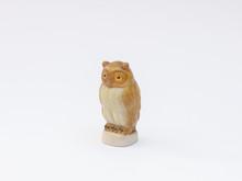 Miniature Porcelain Owl Figuri...