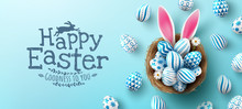 Easter Poster And Banner Templ...