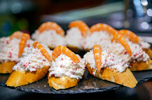 Appetizing Spanish Tapas With ...