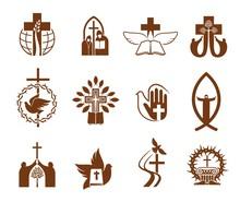 Christian Religion Vector Icon...