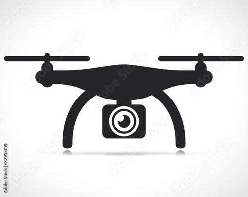 Fototapeta Vector drone icon symbol design obraz