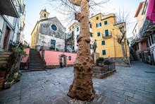 Corniglia Main Square