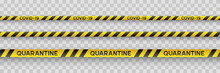 Warning Coronavirus Quarantine...