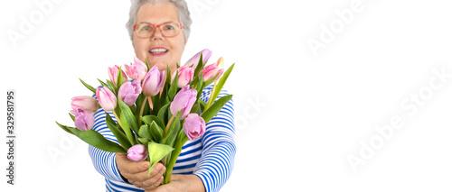 Tulpen verschenken Canvas Print