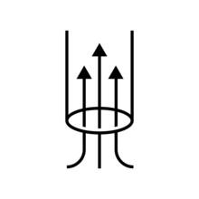Suction Vector Icon. Suck Illu...