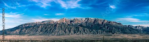 Fototapeta Sandia Mountains obraz