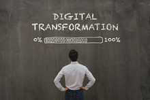 Digital Transformation Concept...