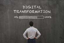 Digital Transformation Concept In Business, Disruption