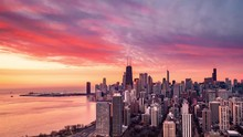 Chicago Aerial Time Lapse From...