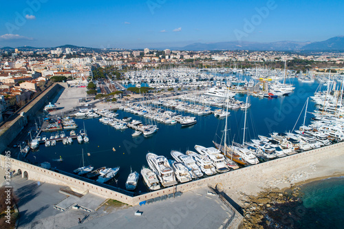 Photo Aerial view of Antibes