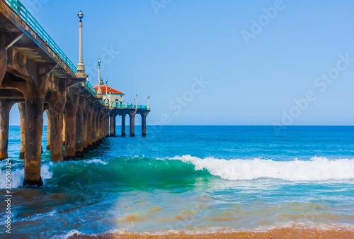 Manhattan Beach Pier, California Canvas-taulu
